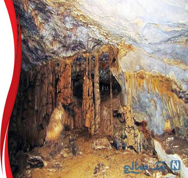 غار قلعه کرد در قزوین یکی از غارهای بسیار جذاب و البته خطرناک ایران است
