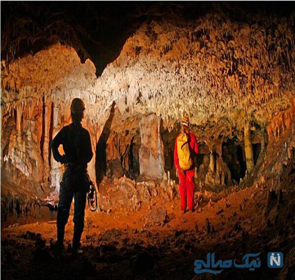 جاذبه های گردشگری غار قلعه کرد با قدمتی ۴ میلیون سال