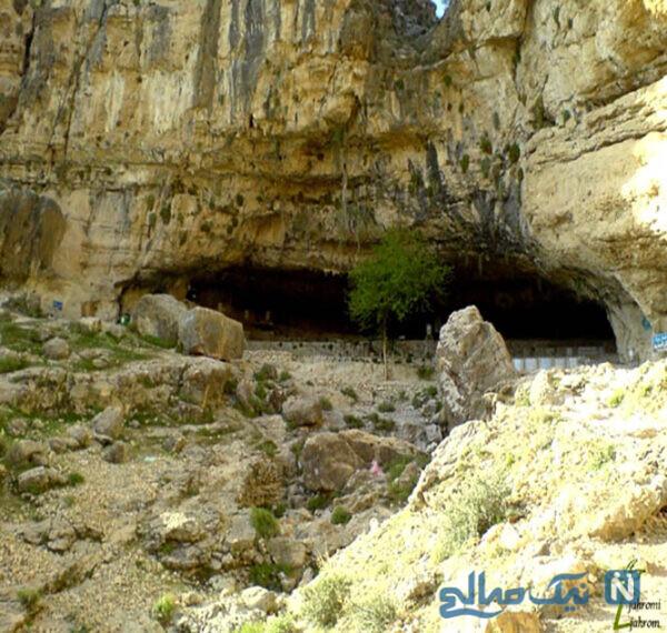 پیشینه تاریخی این غار به چهار دوره تاریخی تقسیم میشود