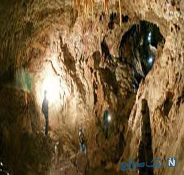 درون غار