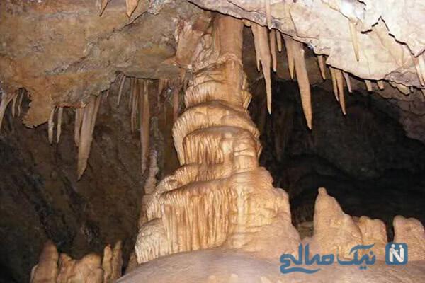 غار بورنیک در شهرستان فیروزکوه در استان تهران را بشناسیم