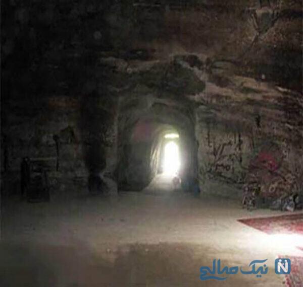 غار قدمگاه تبریز