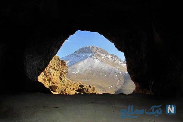 غار هامپوئیل (غار کبوتر) در مراغه را بهتر بشناسیم