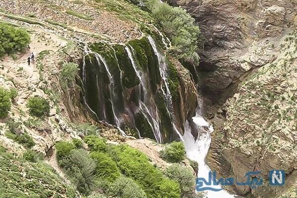 جاهای دیدنی پیست اسکی و چشمه فریدونشهر اصفهان