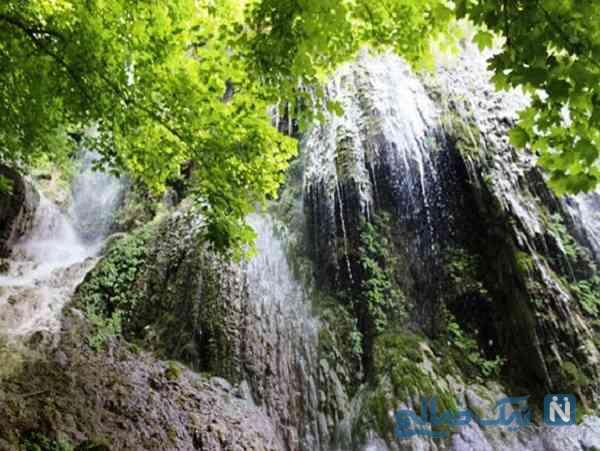 آبشار و چشمه