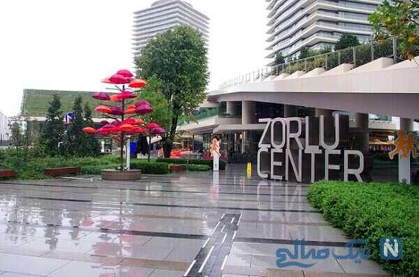 گردش در مرکز خرید زورلو استانبول