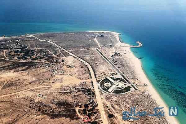 جاذبه های جزیره هندورابی جزیره ناشناخته ایران