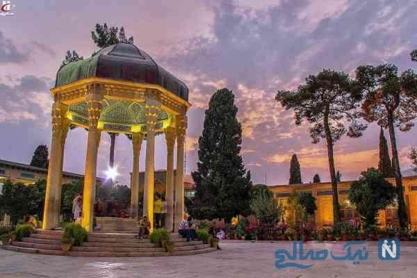 جاذبه های حافظیه شیراز