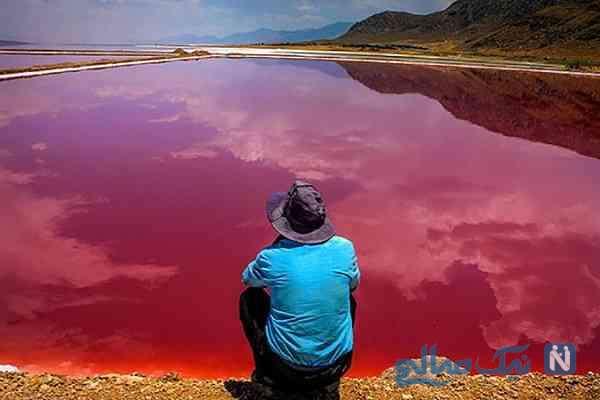 دریاچه سرخ ایران را بشناسید