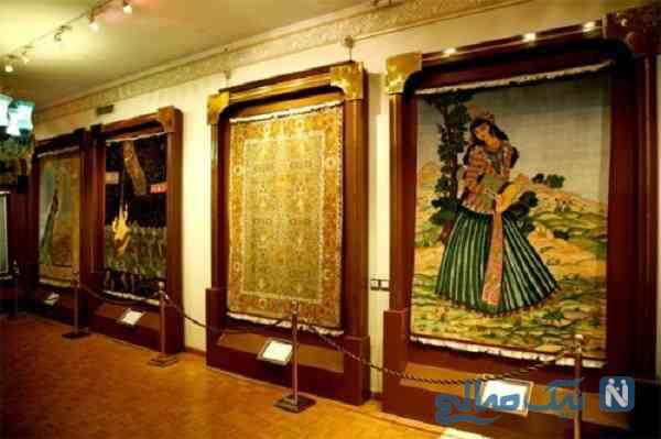 جاذبه موزه فرش ایران