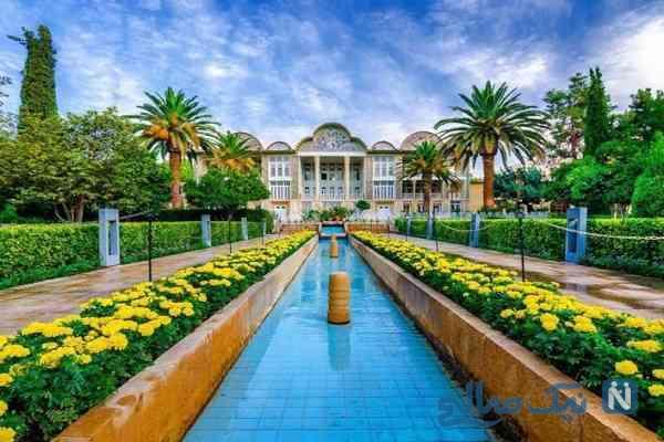 باغ ارم شیراز؛بهشت شیراز