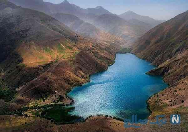 جاذبه دریاچه گهر