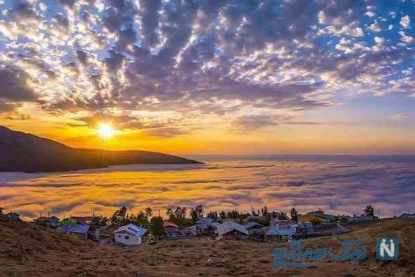 جاذبه گردشگری فیلبند؛روستای رویایی برروی ابرها