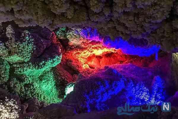 غار چال نخجیر؛شگفتی بی نظیر طبیعت
