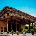 جاذبه های کاخ چهل ستون اصفهان