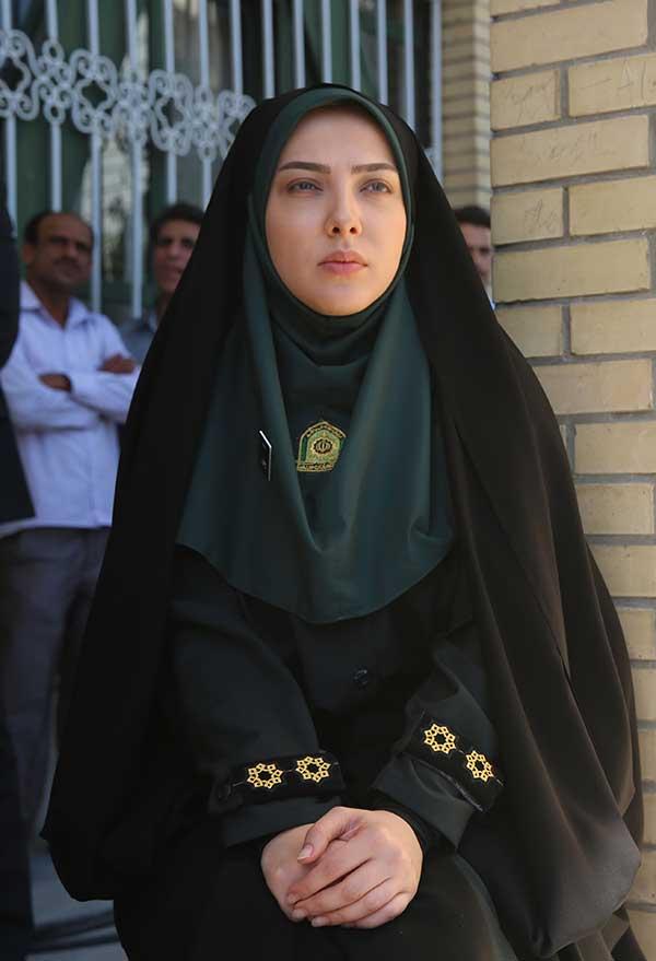 بازی لیلا اوتادی در نقش پلیس+عکس