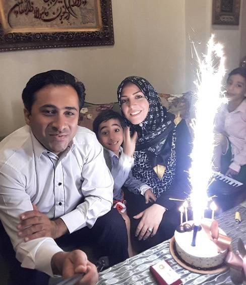 جشن تولد خانوادگی المیرا شریفی مقدم ، مجری تلویزیون!+عکس