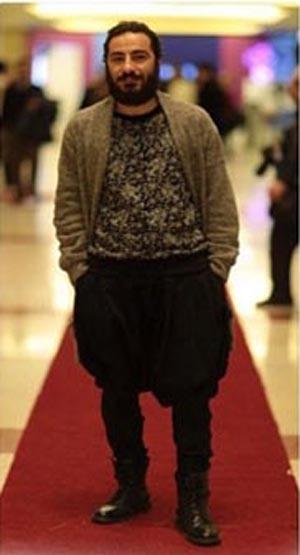 شلوار عجیب بازیگر مرد در جشنواره فجر+عکس