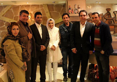همسر خانم مجری بازیگر شد!!+تصاویر