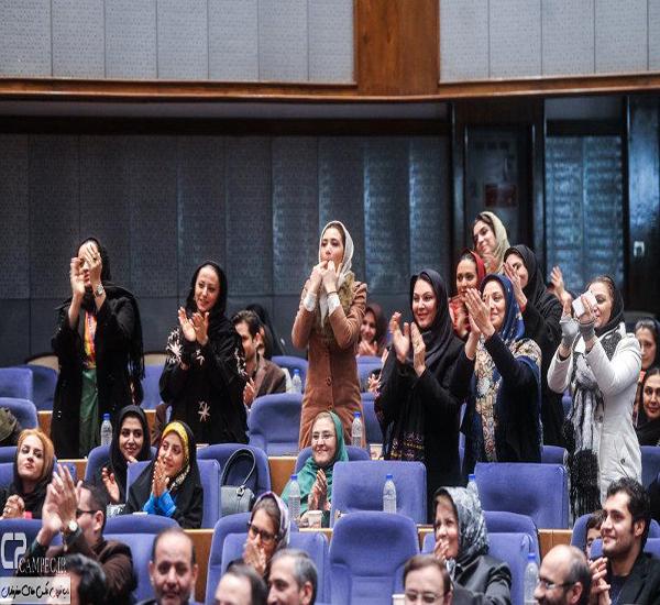 شیطنت بازیگران زن در مراسم جشنواره جام جم + عکس