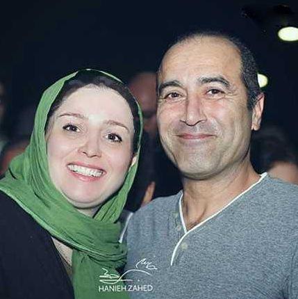 ژاله صامتی بازیگر توانای سینما در کنار همسر و دخترش+تصاویر