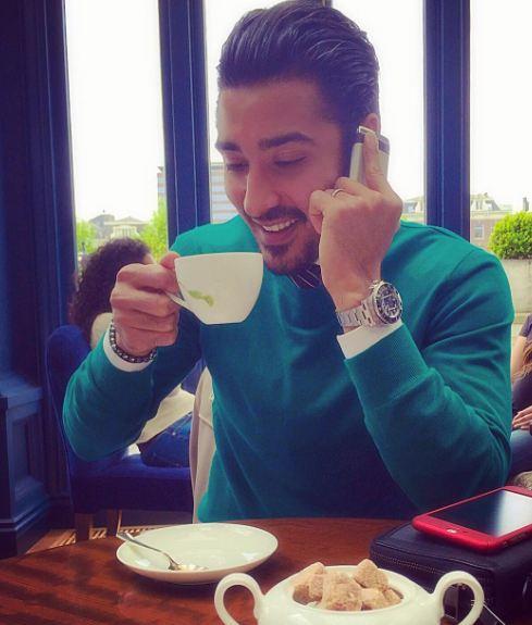 آخر هفته ی رضا قوچان نژاد!+عکس