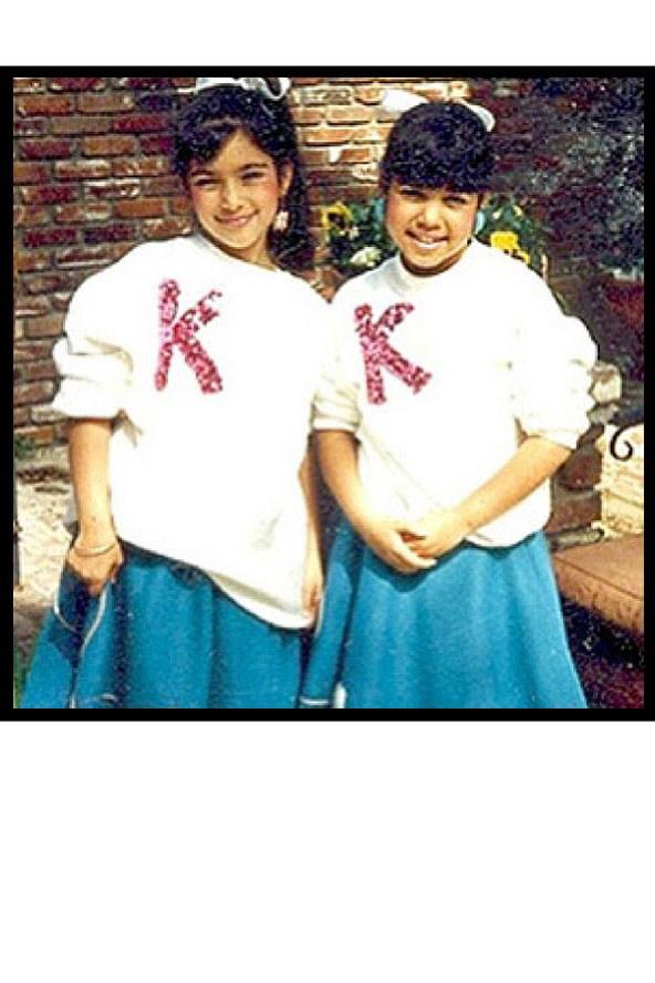 عکس های جالب کودکی و نوجوانی ستارگانی چون لیدی گاگا,بیانسه..