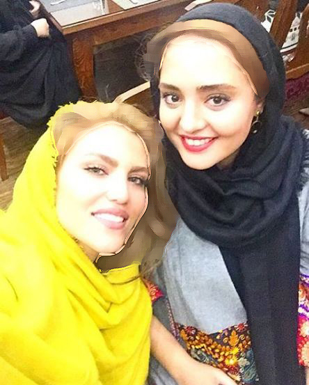 سلفی جدید نرگس محمدی در نیو حجاب ساری!+عکس