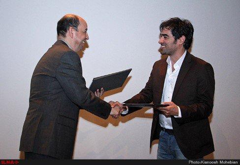 مراسم معرفی شهاب حسینی به عنوان مدیر شهر فرش!+تصاویر