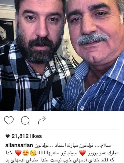 ابراز محبت دو ورزشکار معروف نسبت به پرویز پرستویی!+تصاویر