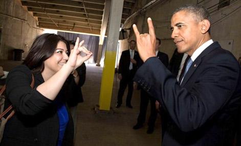 منشی ایرانی-آمریکایی باراک اوباما +عکس
