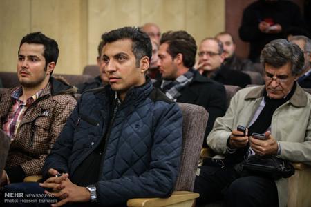 فردوسیپور در مراسم ترحیم ارجمند+عکس