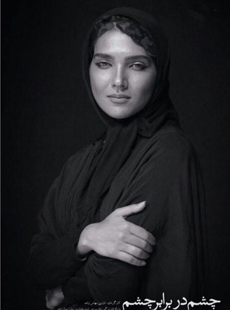 سارا رسول زاده بازیگر نمایش چشم در برابر چشم+عکس
