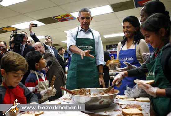 آقای رییس جمهور در حال آشپزی / عکس