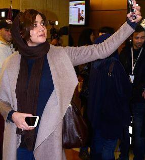 عکسهایی از برنده سیمرغ بلورین بازیگر نقش اول زن در جشنواره ۳۴+تصاویر