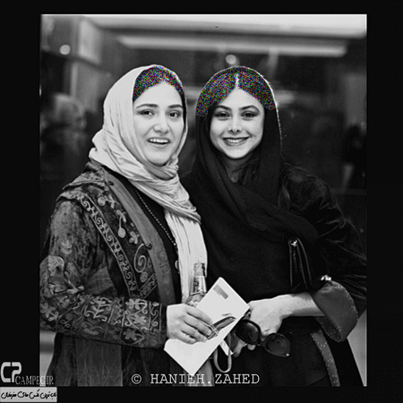 تیپ باران کوثری و آزاده صمدی در افتتاحیه جشنواره فیلم فجر+عکس