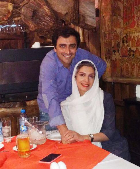 الیکا عبدالرزاقی و امین زندگانی در شب تولد الیکا!+عکس