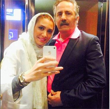 گپی با مجید مظفری و دخترش نیکی+تصاویر