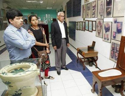 موزه ی بین المللی سرویس بهداشتی در هند!+تصاویر