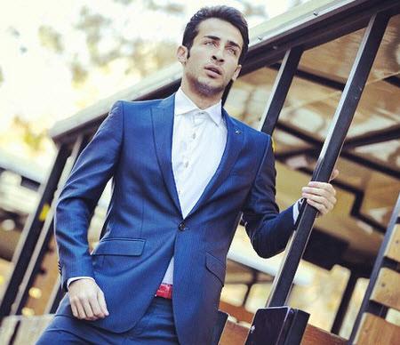 مهران ضیغمی بازیگر جوان کشورمان از دنیای مدلینگ می گوید!+تصاویر