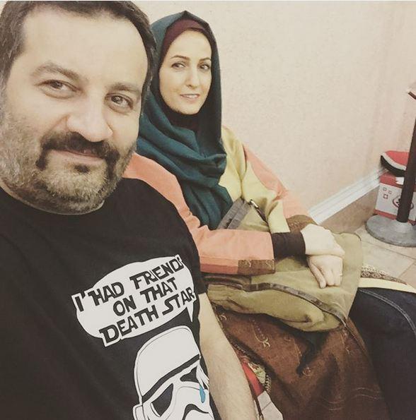 تبریک مهراب قاسمخانی به دخترش نیروانا+تصاویر