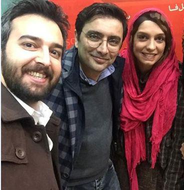 سلفی های الیکا عبدالرزاقی و همسرش امین زندگانی+تصاویر