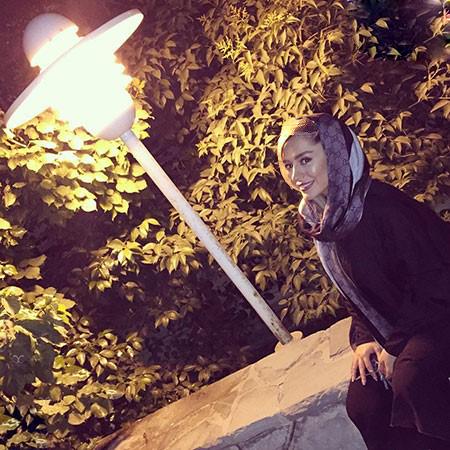 سمانه پاکدل در کنار امیرارسلان برادر زاده اش!+تصاویر