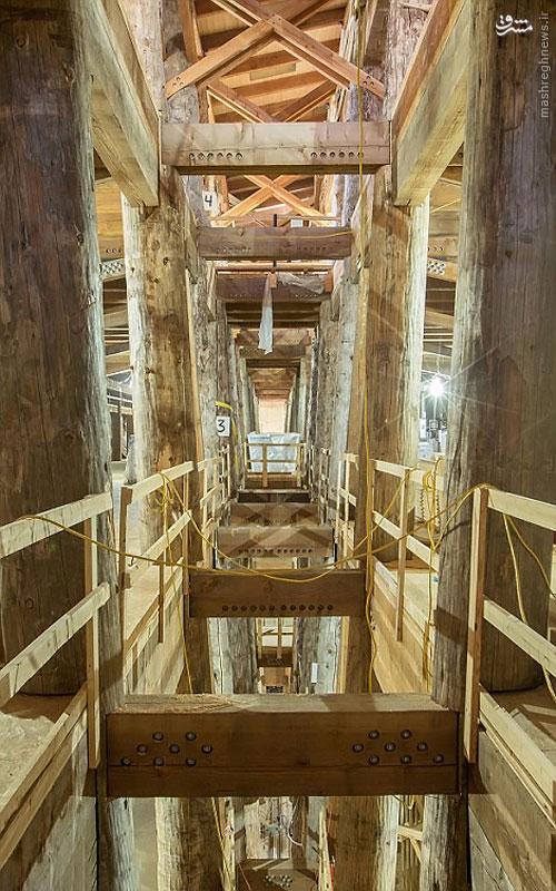 ساخت کشتی نوح در کشور آمریکا!+تصاویر