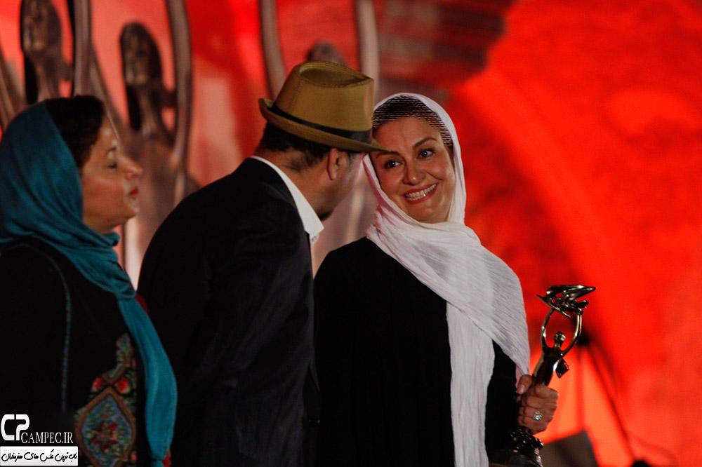 مریلا زارعی ، بهترین بازیگر نقش اول زن در جشن خانه سینما+تصاویر