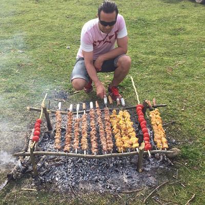 علی کریمی در تعطیلات نوروزی به کجا رفت؟ +تصاویر