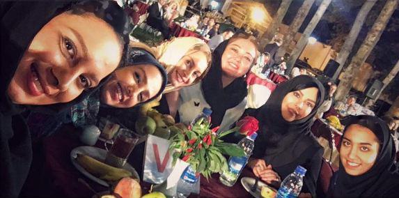 بازیگران مشهور زن در مراسم تقدیر از کیمیا علیزاده!+تصاویر