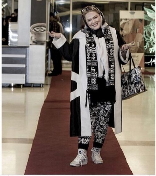 تیپ اسپرت بهاره رهنما در جشنواره فیلم فجر و دلنوشته اش +عکس