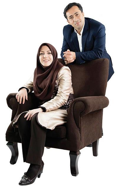 گفتگویی خواندنی با داوود عابدی و همسرش المیرا شریفی مقدم، زوج خبری شبکه خبر+تصاویر