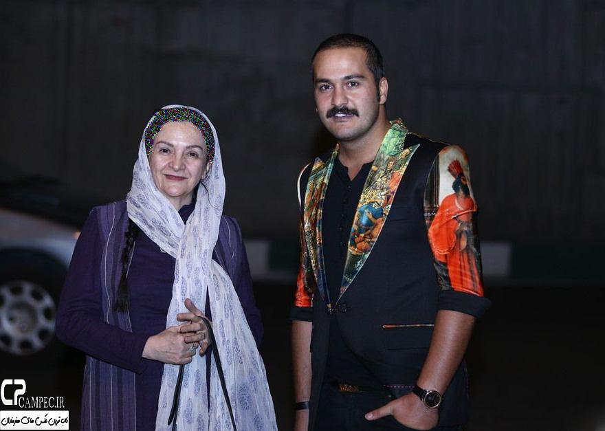 """تیپ متفاوت میلاد کی مرام در اکران """" پدر آن دیگری""""+تصاویر"""